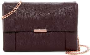 Ted Baker Parson Unlined Soft Leather Crossbody Bag