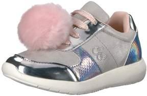 Jessica Simpson Kids' Deuce Sneaker /Metallic