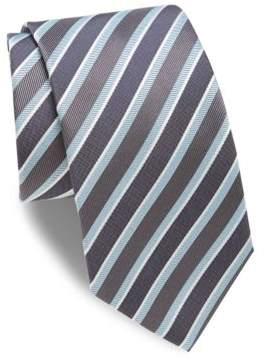 Eton Mixed Striped Silk Tie