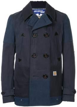 Junya Watanabe MAN Comme Des Garcons Man x Carhatt double breasted coat