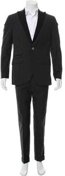 Michael Bastian Glen Plaid One-Button Tuxedo