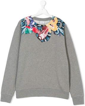 Marcelo Burlon County of Milan Kids bird and snakes print sweatshirt