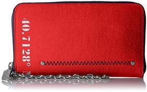 Nautica Sea City RFID Zip Around Chain Wristlet Wallet