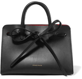 Mansur Gavriel - Sun Mini Mini Leather Tote - Black