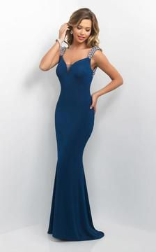 Blush Lingerie Bejeweled Sweetheart Sheath Dress 11135