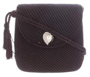 Judith Leiber Matelassé Evening Bag