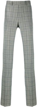Raf Simons checked tailored trousers