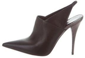 Narciso Rodriguez Pointed-Toe Slingback Pumps