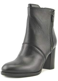 Cordani Venise Women Round Toe Leather Black Ankle Boot.