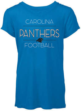 5th & Ocean Women's Carolina Panthers Rayon V T-Shirt