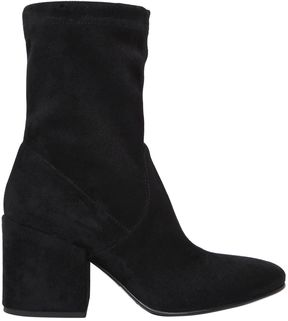 Strategia 70mm Stretch Faux Suede Ankle Boots
