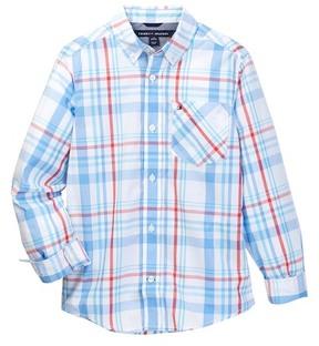 Tommy Hilfiger Hunter Plaid Shirt (Big Boys)