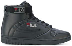 Fila logo detailed hi-top sneakers
