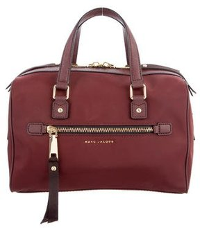 Marc Jacobs Trooper Bauletto Bag - BURGUNDY - STYLE