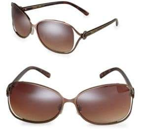 Sam Edelman 64mm Oval Sunglasses