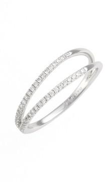 Bony Levy Women's Diamond Two Row Ring (Nordstrom Exclusive)