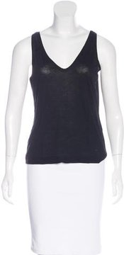 Dries Van Noten Sleeveless Scoop Neck Top
