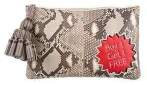 Anya Hindmarch Georgiana Buy 1 Get 1 Free Python Clutch