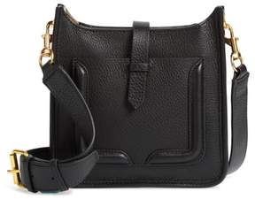 Rebecca Minkoff Mini Unlined Leather Feed Bag - BLACK - STYLE