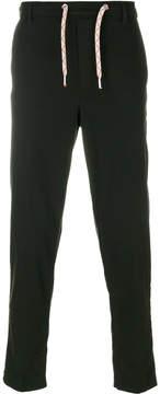 MAISON KITSUNÉ drawstring slim trousers