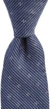 Murano Star Stripe Narrow Tie