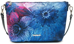 DESIGUAL Blue Messenger Bag