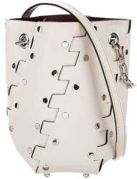 Proenza Schouler Mini Hex Studded Bucket Bag