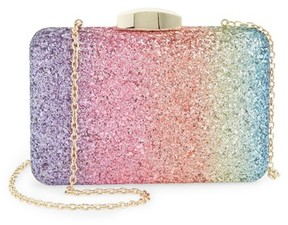 Nordstrom Ombre Glitter Miniaudiere - Blue