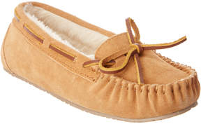 Minnetonka Women's Junior Trapper Suede Slipper