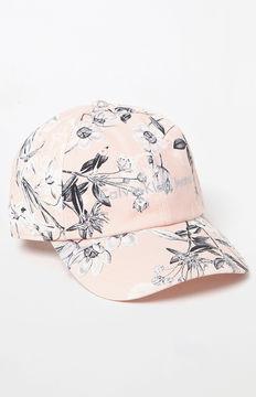 Calvin Klein Floral Strapback Dad Hat