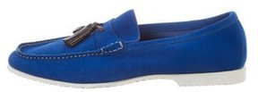 Tom Ford Suede Leather-Trimmed Loafers