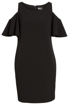 Chelsea28 Women's 'Peek-A-Boo' Cold Shoulder Shift Dress