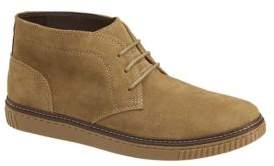 Johnston & Murphy Wallace Water-Resistant Suede Chukka Boots