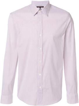 Michael Kors patterned button up shirt