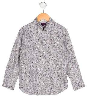 Paul Smith Boys' Printed Button-Up Shirt