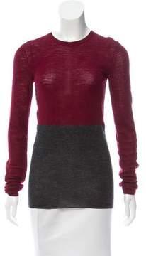 Celine Colorblock Knit Sweater