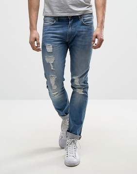 Lee Luke Skinny Jeans Pacific Wash