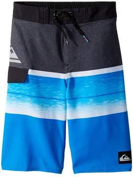 Quiksilver Slab Logo 14 Boardshorts Boy's Swimwear