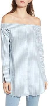 DL1961 Adelphi & Willoughby Off the Shoulder Shirt