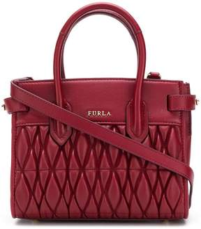 Furla Pin quilted tote