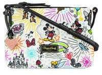 Disney Sketch Nylon Crossbody Bag by Dooney & Bourke