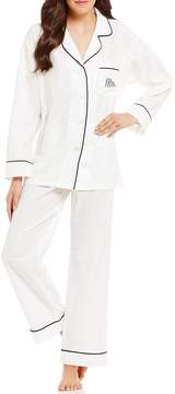 BedHead Mrs-Embroidered Classic Pajamas