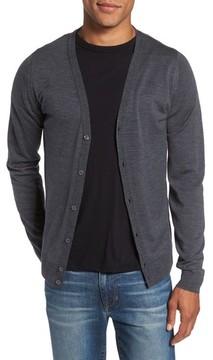 John Smedley Men's Standard Fit Wool Cardigan