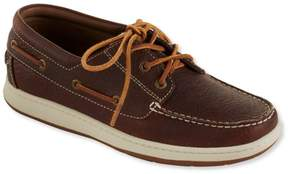 L.L. Bean L.L.Bean Men's Lakeside Boat Shoes, Three-Eye Tie