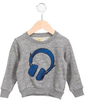 Paul Smith Boys' Knit Headphones Sweatshirt