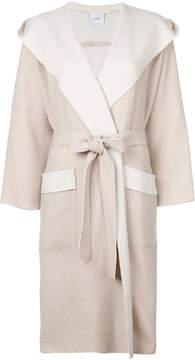 Agnona tie waist cardi-coat