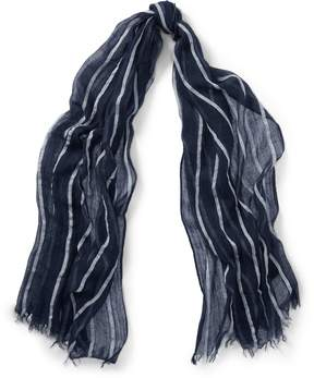 Ralph Lauren Striped Lightweight Scarf