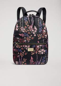 Emporio Armani Floral Technical Fabric Backpack