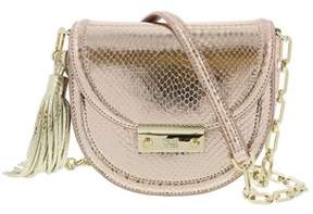 Roberto Cavalli Small Shoulder Bag Linda 001 Copper Rose Shoulder Bag.
