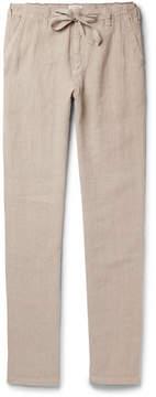 Hartford Troy Slim-Fit Linen Drawstring Trousers